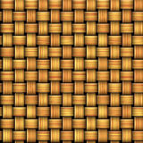 Seamless pattern resembling a wicker basket texture. Gold, red and brown seamless pattern of wattle Stock Image