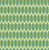 Seamless pattern. Seamless retro background in modern ikat pattern Stock Images