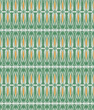 Seamless pattern. Seamless retro background in modern ikat pattern Royalty Free Stock Image