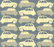Seamless pattern with retro cars Stock Image
