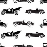 Seamless pattern of retro cars. Stock Photography