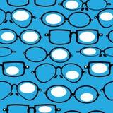 Seamless pattern retro glasses Royalty Free Stock Image