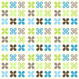 Seamless pattern in retro style Royalty Free Stock Image