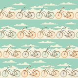 Seamless pattern in retro style Royalty Free Stock Images