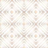 Seamless pattern in retro style. Abstract textured ba Stock Image