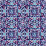 Seamless pattern with arabesques stock photos