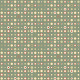 Seamless pattern in retro style. Disco vintage background. Royalty Free Stock Photo