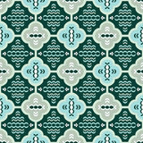 Seamless pattern in retro style Stock Photography