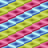Seamless pattern with rhombic details Royalty Free Stock Photography