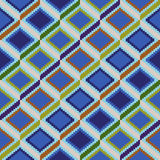 Seamless pattern with rhombic elements vector illustration