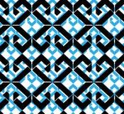 Seamless pattern with rhombs, colorful infinite geometric mosaic Stock Photography