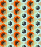 Seamless pattern with rhombus Royalty Free Stock Image