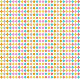 Seamless pattern rhombus Royalty Free Stock Photos