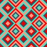 Seamless pattern with rhombus. Seamless pattern with multicolored rhombus Stock Photography