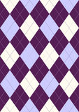 Seamless pattern in rhombuses Royalty Free Stock Images
