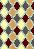 Seamless pattern in rhombuses Royalty Free Stock Photo