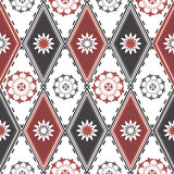 Seamless pattern with rhombuses Royalty Free Stock Image