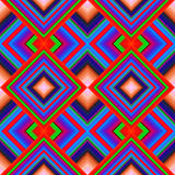 Seamless pattern of rhombuses Royalty Free Stock Photo