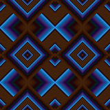 Seamless pattern of rhombuses Royalty Free Stock Image