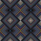 Seamless pattern of rhombuses Stock Photo