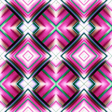 Seamless pattern of rhombuses Stock Image