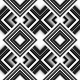Seamless pattern of rhombuses Stock Photos
