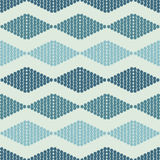 Seamless pattern with rhombuses tribal Stock Images