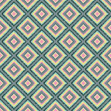 Seamless pattern with rhombuses tribal Royalty Free Stock Image