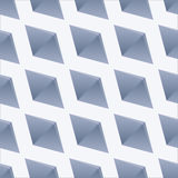 Seamless  pattern with rhombuses. Volume texture Royalty Free Stock Photos