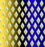 Seamless  pattern with  rhombuses Stock Photo