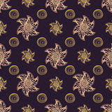 Seamless pattern rich dear background. Royalty Free Stock Photography