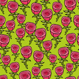 Seamless pattern for romantic case. Royalty Free Stock Images