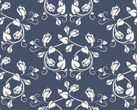 Seamless pattern with rose Stock Photo