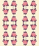 Seamless pattern of roses Royalty Free Stock Image