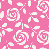 Seamless pattern with roses. Abstract floral background. Vector illustration. Wallpaper with cute flowers vector illustration