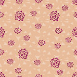 Seamless pattern of roses Stock Image