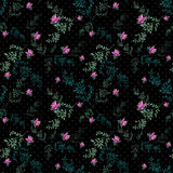 Seamless pattern with roses background Royalty Free Stock Images