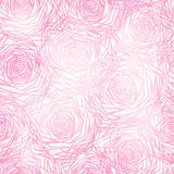 Seamless pattern with roses. EPS 10. Seamless pattern with abstract roses. EPS 10 Royalty Free Stock Photos