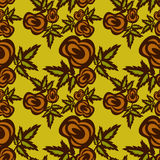 Seamless pattern with roses Stock Image