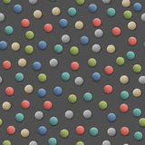 Seamless pattern with round candies. Vector background Royalty Free Stock Photo