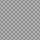Seamless pattern of round crosses. Stock Photos