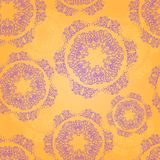 Seamless Pattern with Round Elements Stock Photos