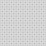 Seamless pattern of round lines. Geometric wallpaper. Stock Photo
