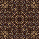 Seamless pattern with a round Oriental elements. Arabic Oriental Turkish motifs Stock Photo