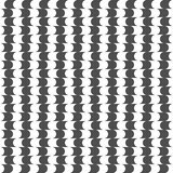 Seamless pattern of round shapes. Geometric background. Stock Image