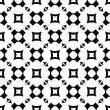 Seamless pattern with rounded crosses, squares, triangles Stock Photos