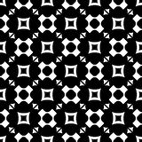 Seamless pattern with rounded crosses, squares, triangles Stock Photography