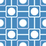 Seamless pattern with rounded squares Stock Photos