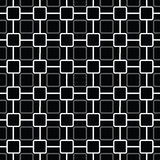 Seamless pattern with rounded squares Royalty Free Stock Photography