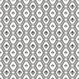 Seamless Pattern With Royal Lily Royalty Free Stock Photos